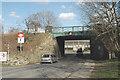 SE3110 : Railway bridge near Darton Station by Chris Yeates
