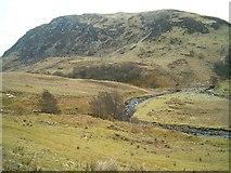 NM8509 : Barbreck River in Gleann Domhain by Patrick Mackie