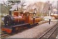 NY7146 : South Tynedale Railway Engine, Alston. by Colin Smith