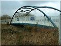 SE2102 : Millennium Bridge, Trans Pennine Trail by Nigel Homer