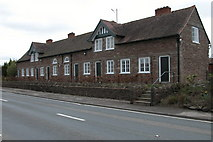 SO5047 : Almshouses at Wellington by Philip Halling