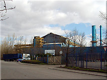 ST2176 : Celsa factory, Tremorfa by Linda Bailey