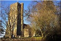 SP9536 : St. James, Husborne Crawley by Geoff Pick