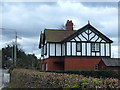 SJ7278 : Mock Tudor semi, Tabley, Cheshire by michael ely