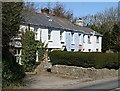 SW7645 : A Row of Terraced Houses at Green Bottom by Tony Atkin