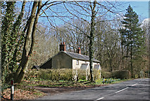 SU6830 : Cottages in woodland by Anonymous 4452