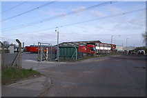 ST3285 : Norbert Dentressangle Depot by Adrian and Janet Quantock
