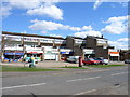 SU9096 : Shops in Holmer Green by Andrew Smith