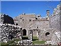 SS4792 : Weobley Castle by Steve Rigg