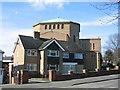 SP0277 : St John Fisher Roman Catholic Church, West Heath by David Stowell