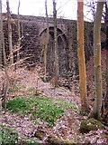 NS7671 : Bridge over Staylee Glen by Iain Thompson