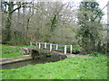 SM9913 : Footbridge at Millin Cross by John Winterbottom