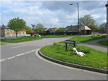 TL1198 : Ailsworth Village Green by Mike Bardill