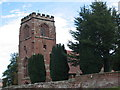 SJ4550 : St. Mary's Church, Tilston, Cheshire by Merv Jones