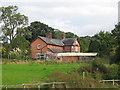 SJ4648 : Scar Farm, Overton, near Malpas, Cheshire by Merv Jones