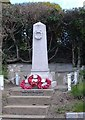 SP8010 : War Memorial, Bishopstone by Edward Farrow