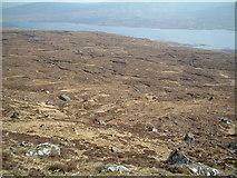 NN3362 : Moorland above Creag Nodha by Chris Wimbush