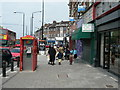 Dist:0.2km<br/>This part of London (Stamford Hill) is home to many Orthodox Jews. Note the way the women and children are dressed in this photo -- adults with heads covered, all females modestly dressed, wearing skirts.