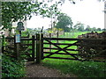 ST7763 : The path to Rainbow Wood Farm by Phil Williams