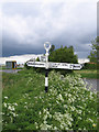 TF2621 : Holland County Council fingerpost road sign, Low Fulney, Lincs by Rodney Burton