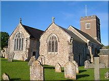 SY1398 : St Michael's church, Gittisham by Derek Harper
