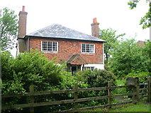 TQ9338 : Potters Farm, Brissenden Green by Derek Harper