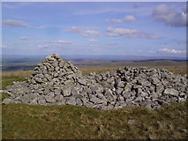 NY4513 : Tumulus and Cairn Low Raise by Michael Graham