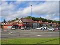 SP0679 : Shops at Brandwood End by David Stowell