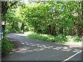 SW4425 : B3315 at Lamorna Cove junction by Alan Simkins
