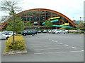 SZ1293 : Littledown Centre, Bournemouth by Stuart Buchan