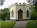 SX5155 : The Castle, Saltram House by Derek Harper