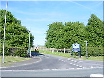SJ3177 : Entrance to Leahurst,  Liverpool University's Veterinary Field Station by Sue Adair