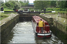 ST6569 : Keynsham Lock by Pierre Terre