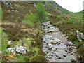 NG8640 : Abhainn Cumhang a' Ghlinne by Dave Fergusson
