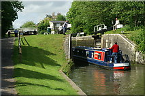 ST7564 : Abbey View Lock, Kennet and Avon Canal by Pierre Terre