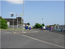 NZ2954 : Entrance to SP Tyres factory by Brian Abbott