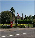 SP5292 : The War Memorial, Broughton Astley by Kevin Flynn