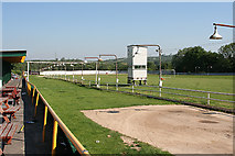 SS6196 : Cockett Community: greyhound stadium near Mynydd-bach-y-glo by Martin Bodman
