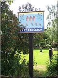 TQ7353 : Village sign, East Farleigh, Kent by Rodney Burton