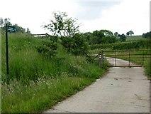 SK4816 : Bridleway to Lubcloud Farm by Stephen McKay