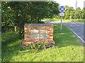 TL0642 : Village sign, Wilstead, Beds by Rodney Burton