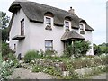 H3195 : Cottage at Urney, Strabane by Kenneth Allen