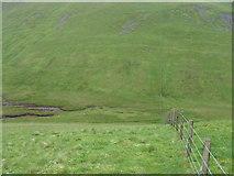 NT1014 : From Whitehope Knowe across to Hart Fell hillside by Chris Wimbush