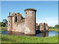 NY0265 : Caerlaverock Castle and Moat by Archie Cochrane