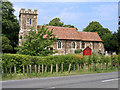 TL1032 : Parish church, Higham Gobion, Beds by Rodney Burton