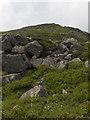 NY3433 : East peak, Carrock Fell by Andrew Smith