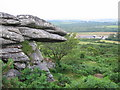 SX0661 : Wind sculpted rocks at Helman Tor by Phil Williams