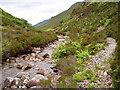 NG9127 : Path by the River Glennan by David Gruar