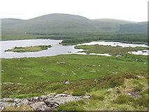 NX4491 : Loch Macaterick from Craigfionn by Chris Wimbush
