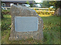 SO4907 : Five Trees Boundary Stone by Roy Parkhouse